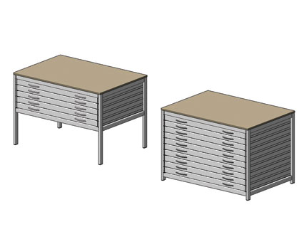 Bim, BIM, Store, Revit,Component,Object,Model,flexiform,furniture,office,storgae,plan,chest,unit,cabinet,drawer,A0,