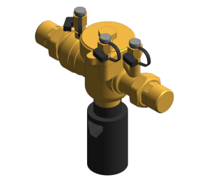 Revit, Bim, Store, Components, MEP, Object, Altecnic, Mechanical, Pipe, 574, series, Backflow, Preventer, BA, type