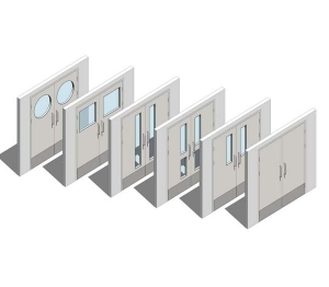 Image of Altro Whiterock Doorsets - Double