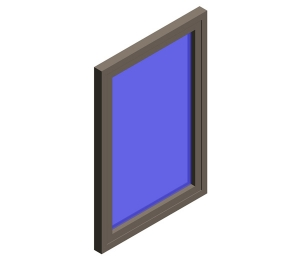 AluK 72BW HI Casement Window Internally Glazed