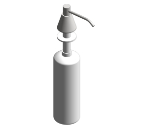 Lavatory Mounted All Purpose Soap Dispenser (0332-C)