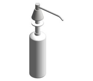 Lavatory Mounted All Purpose Soap Dispenser (0332-CD)