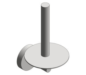 Spare Toilet Paper Holder (7316)