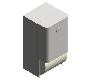 Surface Mounted Dual Roll Toilet Tissue Dispenser (9030)
