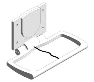 Surface Mounted Baby Changing Station (9012)