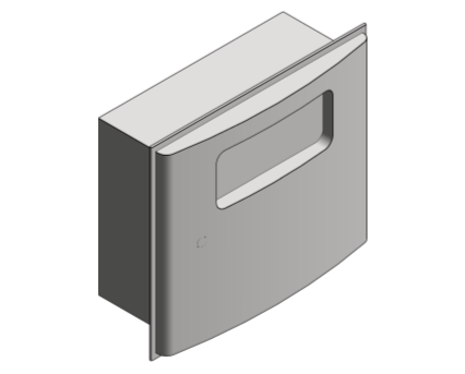 Revit, Bim, Store, Components, Generic, Model, Object, 13, American, Specialties, Inc., Recessed, Sanitary, Napkin, Disposal, 20470