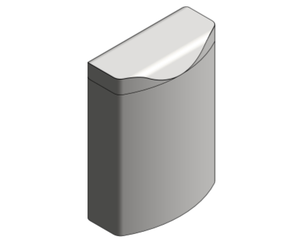 Revit, Bim, Store, Components, Generic, Model, Object, 13, American, Specialties, Inc., Surface, Mounted, Sanitary, Waste, Receptacle, 20852