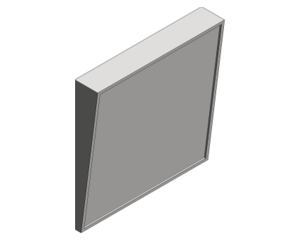 Revit, Bim, Store, Components, Generic, Model, Object, 13, American, Specialties, Inc., Fixed, Tilt, Mirror, 0535