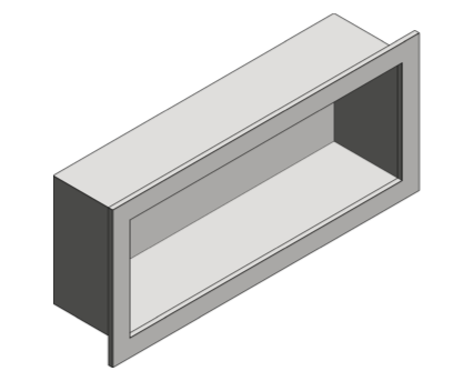 Revit, Bim, Store, Components, Generic, Model, Object, 13, American, Specialties, Inc., Recessed, Shelve, 0412