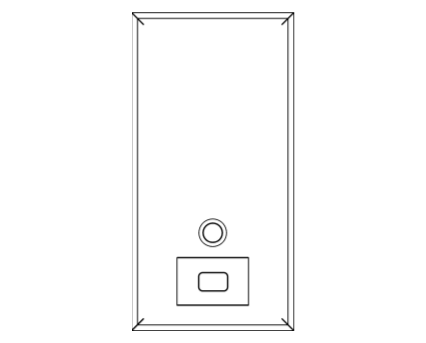 Revit, Bim, Store, Components, Generic, Model, Object, 13, American, Specialties, Inc., Vertical, Soap, Dispenser, 0347