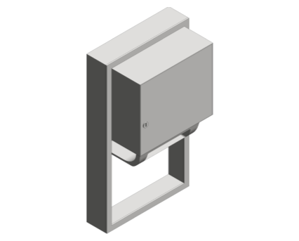 Revit, Bim, Store, Components, Generic, Model, Object, 13, American, Specialties, Inc., Automatic, Roll, Paper, Towel, Dispenser, 045224A-9Revit, Bim, Store, Components, Generic, Model, Object, 13, American, Specialties, Inc., Automatic, Roll, Paper, Towel, Dispenser, 045224A-9