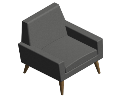 Revit, BIM, Furniture, Family, UK, British, Furnishings, Seating, Interior, Design, Assemblyroom, assembly, room, sofa, Finsbury