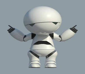 Marvin The Paranoid Android