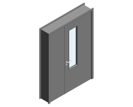 Revit, BIM, Download, Free, Components, Object, Door, Doorset, Bespoke, CW, Fields, and, Son, Limited, 44mm, Thick, Leaf, Half, Internal