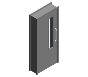 Revit, BIM, Download, Free, Components, Object, Door, Doorset, Bespoke, CW, Fields, and, Son, Limited, 44mm, Thick, Single, Internal, Door