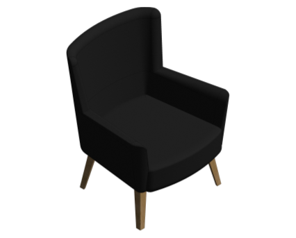 Revit, BIM, Furniture, Family, UK, British, Furnishings, Seating, Interior, Design, deadgood, dead, good, Love, Chair