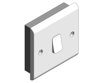 Bim, Content, Object, Component, BIM, Store, Revit, Free, Original, Library, Electrical, Power, Fixtures, Deta, Electrical, Sockets, Outlets, Switches, Plug, Gang, 10, 10A, Plate, Slimline