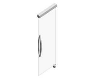 Manual Glass Swing Door (concealed)