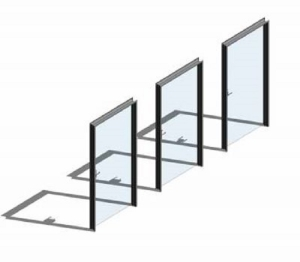 Internal Glass Swing Door Sets
