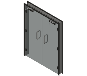 Dortek Glass Hinged Doors