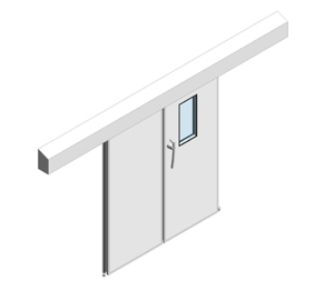 Dortek Hermetic Bi-Parting Sliding Doors