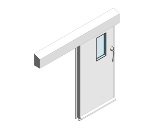 Dortek Hermetic Sliding Doors - Fire Rated