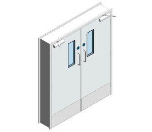 Dortek Hygienic Hinged Doors - Fire Rated & Lead Lined