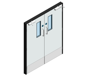 Dortek Hygienic Hinged Doors - Fire Rated