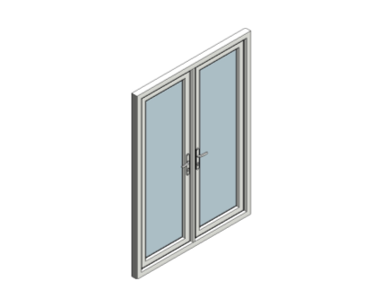 Eurologik70 chamfered french door inward opening for Upvc french doors inward opening