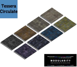 Tessera Circulate Carpet Tile