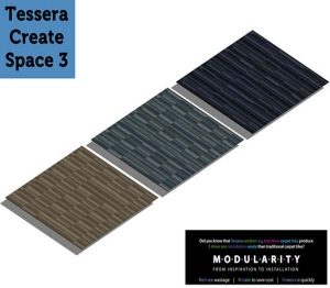 Tessera Create Space 3 Carpet Tile