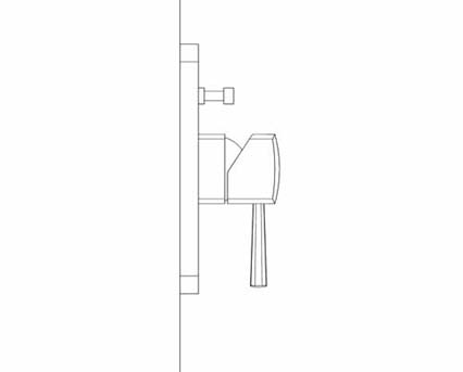 Revit, Bim, Store, Components, MEP, Object, Grohe, Plumbing, Fixtures, 14, METRIC, Grandera, Single, Lever, Bath, Shower, Mixer, Trim, 19920000
