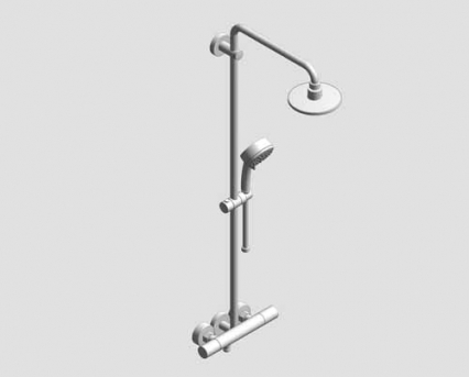 grohe new tempesta cosmopolitan 160 shower system with. Black Bedroom Furniture Sets. Home Design Ideas
