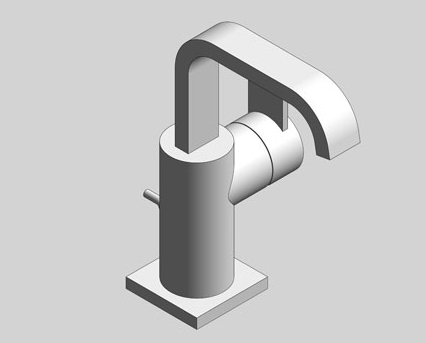 Revit, Bim, Store, Components, MEP, Object, Grohe, Plumbing, Fixtures, 14, METRIC, Allure, Single, Lever, Basin, Mixer, L, Size, 32146000