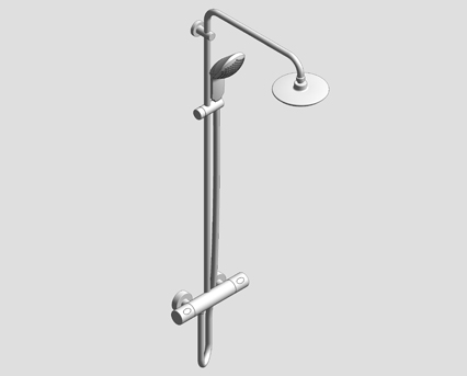grohe euphoria system 180 shower system with thermostat. Black Bedroom Furniture Sets. Home Design Ideas