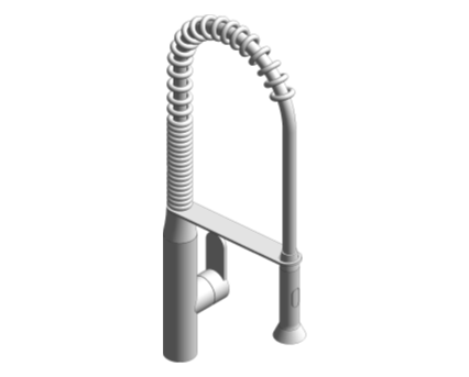 Revit, Bim, Store, Components, MEP, Object, Grohe, Plumbing, Fixtures, 14, METRIC, K7, Sink, Mixer, 32950000