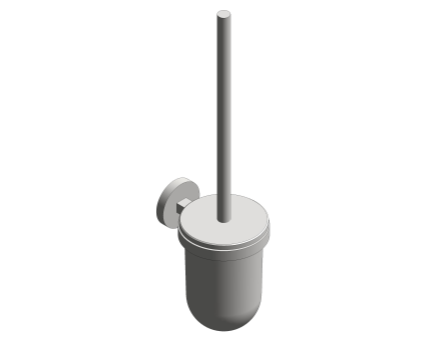 Revit, Bim, Store, Components, MEP, Object, Grohe, Plumbing, Fixtures, 14, METRIC, Essentials, Toilet, Brush, Set, 40374000