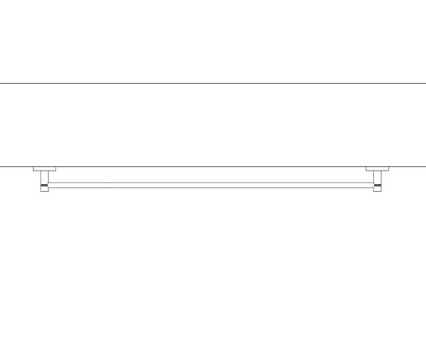 Revit, Bim, Store, Components, MEP, Object, Grohe, Plumbing, Fixtures, 14, METRIC, Essentials, Towel, Rail, 40386000
