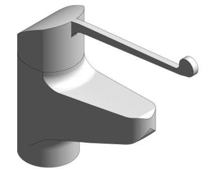 Revit, Bim, Store, Components, MEP, Object, Grohe, Plumbing, Fixtures, 14, METRIC, Euroeco, Special, SSC, Single, Lever, Basin, Mixer, 116641
