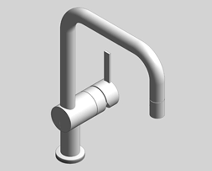 Revit, Bim, Store, Components, MEP, Object, Grohe, Plumbing, Fixtures, 14, METRIC, Minta, Single-Lever, Sink, Mixer, 32319000