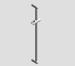 NTempesta shower rail 600 - 27523000