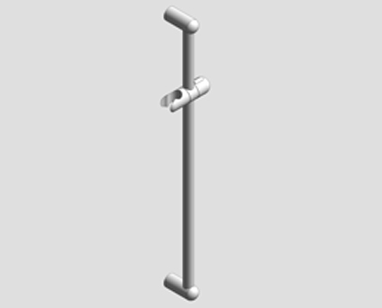 Revit, Bim, Store, Components, MEP, Object, Grohe, shower, N, NTempesta, shower, rail, 600, 27523000