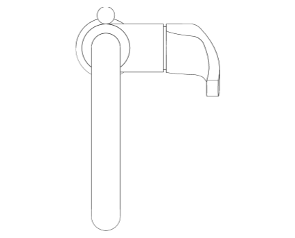 Revit, Bim, Store, Components, MEP, Object, Grohe, Plumbing, Fixtures, 14, METRIC, Eurosmart, Single, Lever, Basin, Mixer, L, Size, 23537002