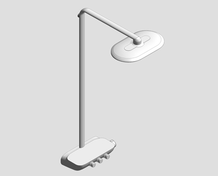 Revit, Bim, Store, Components, MEP, Object, Grohe, shower, bath, BauEdge, Single, Lever, Basin, Mixer, 26250000
