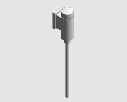 Revit, Bim, Store, Components, MEP, Object, Grohe, Rondo, Urnial, Flush, 37342000
