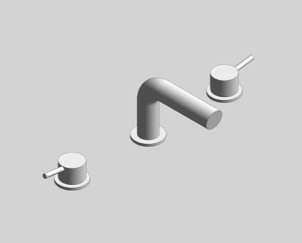 Revit, Bim, Store, Components, MEP, Object, Grohe, Plumbing, Fixtures, 14, METRIC, Concetto, Single, Lever, 20572001/20572EN1