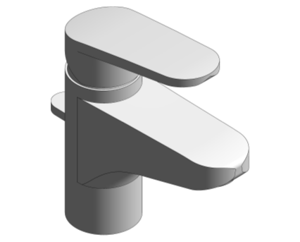 Revit, Bim, Store, Components, MEP, Object, Grohe, Plumbing, Fixtures, 14, METRIC, Europlus, Single, lever, Basin, Mixer, 33155002