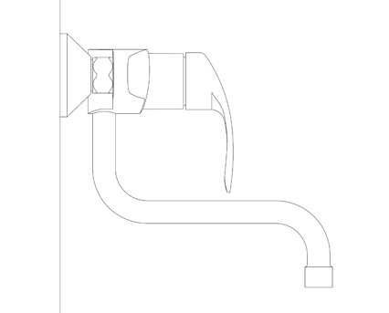 Revit, Bim, Store, Components, MEP, Object, Grohe, Plumbing, Fixtures, 14, METRIC, Eurosmart, Single, Lever, Sink, Mixer, 31391002