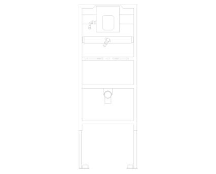 Revit, Bim, Store, Components, MEP, Object, Grohe, Plumbing, Fixtures, 14, METRIC, Rapid, SL, For, Urinal, 38786001