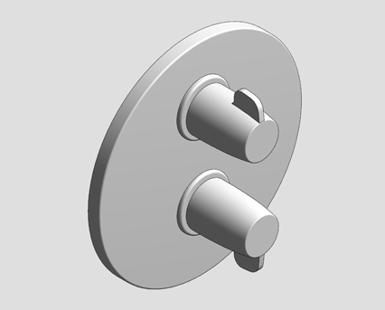 Revit, Bim, Store, Components, MEP, Object, Grohe, Plumbing, Fixtures, 14, METRIC, Grohtherm, Special, Thermostatic, Shower, Mixer, 29094000